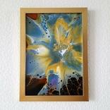 Картина/ живопис/ абстракція Fluid Art #68 acrylic, фото №7