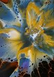 Картина/ живопис/ абстракція Fluid Art #68 acrylic, фото №8