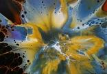 Картина/ живопис/ абстракція Fluid Art #68 acrylic, фото №9