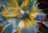 Картина/ живопис/ абстракція Fluid Art #68 acrylic, фото №11