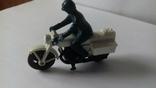 Модель мотоцикл Honda750, Matchbox, 1977, фото №4