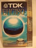 Видеокассета TDK 180 мин. запечатана., фото №3