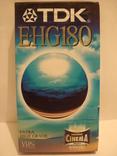 Видеокассета TDK 180 мин. запечатана., фото №2