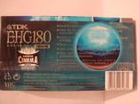 Видеокассета TDK 180 мин. запечатана., фото №5