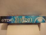 Видеокассета TDK 180 мин. запечатана., фото №7
