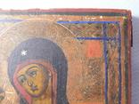 Икона. Иерусалимская Божья Матерь. Размер 17х22 см, фото №4