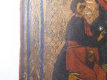 Икона. Иерусалимская Божья Матерь. Размер 17х22 см, фото №6
