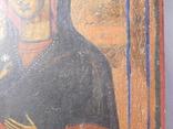 Икона. Иерусалимская Божья Матерь. Размер 17х22 см, фото №7