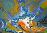 Картина/ живопис/ абстракція Fluid Art #69 acrylic, фото №10