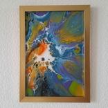 Картина/ живопис/ абстракція Fluid Art #69 acrylic, фото №11