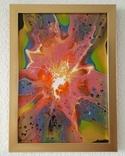 Картина/ живопис/ абстракція Fluid Art #70 acrylic, фото №2