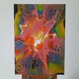 Картина/ живопис/ абстракція Fluid Art #70 acrylic, фото №3