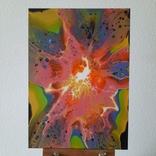 Картина/ живопис/ абстракція Fluid Art #70 acrylic, фото №5