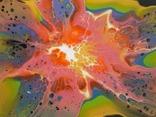 Картина/ живопис/ абстракція Fluid Art #70 acrylic, фото №8
