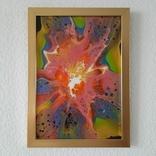 Картина/ живопис/ абстракція Fluid Art #70 acrylic, фото №11