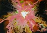Картина/ живопис/ абстракція Fluid Art #71 acrylic, фото №10