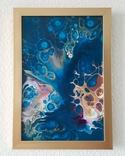 Картина/ живопис/ абстракція Fluid Art #72 acrylic, фото №2