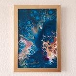 Картина/ живопис/ абстракція Fluid Art #72 acrylic, фото №7