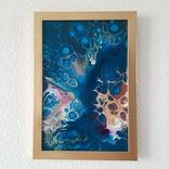 Картина/ живопис/ абстракція Fluid Art #72 acrylic, фото №11