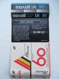 Вкладыши для аудиокассет 80-90 годов 4 штуки, фото №3