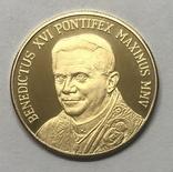 Жетон-монета Бенедикт XVI. Ватикан, фото №3