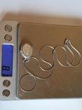 Нательная иконка + цепочка 50 см. Серебро 925 проба., фото №9