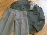 Китель + штаны (серые) разм.40, фото №3