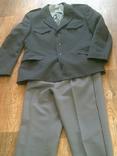 Китель + штаны (серые) разм.40, фото №7