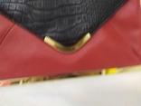 Клатч Красно-черный Asos. Новый. 31,5х19,5см, фото №3