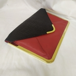 Клатч Красно-черный Asos. Новый. 31,5х19,5см, фото №4