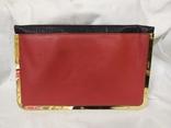 Клатч Красно-черный Asos. Новый. 31,5х19,5см, фото №5