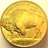 США 50 долларов 2021 г. Баффало, фото №3