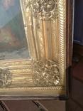 Святая Троица - старинная икона ( 60 на 70 см), фото №7