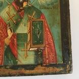 Старинная икона Св. Николая Чудотворца, фото №9