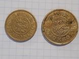 10 и 20 крон, Дания, фото №2