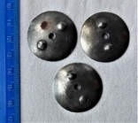 Закрутки орденские 3 шт., реплики, реакция на инд. серебра (8), фото №3