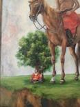Козак Жила, фанера/олія, 32х40 см, фото №7