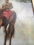 Козак Жила, фанера/олія, 32х40 см, фото №9