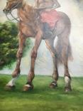 Козак Жила, фанера/олія, 32х40 см, фото №11