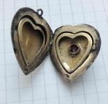Кулон в форме сердечка Советского периода, 875, 5,7 грамм, фото №8