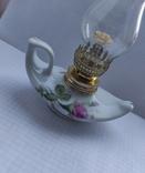 Фарфорова гасова лампа, фото №12