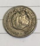 10 центов Нидерланды 1975 год, фото №4