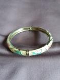 Винтажный браслет клуазоне, фото №3