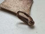Советский кулон. Серебро 875. Позолота., фото №5