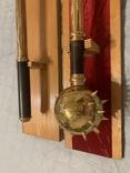Булава латунная сувенирная, фото №10