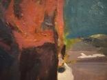 """1980,Кнышевский В.""""Авиаторы"""",к.м.30*39см, фото №7"""