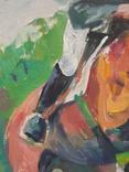 "1985,Кнышевский В.""Барьер взят"",х.м.45*40см, фото №5"