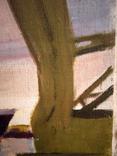 """1982,Кнышевский В.""""Северный порт"""",х.м.46*40см, фото №7"""