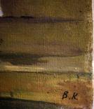 """1982,Кнышевский В.""""Северный порт"""",х.м.46*40см, фото №8"""