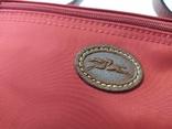 Фирменная косметичка или маленькая сумочка Longchamp. Англия. Новая. 22х13 без ручки, фото №4
